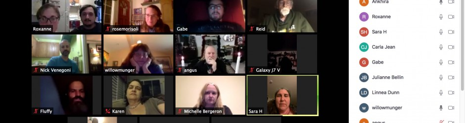 Virtual Open Circle, October 10th, 2020